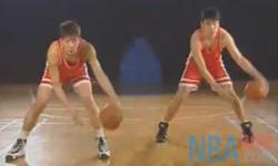 运球 脚步动作 张卫平篮球教学 第二集
