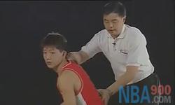 传球 张卫平篮球教学视频 第三集