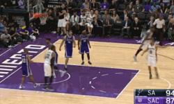 国王vs马刺 2016年10月28日NBA常规赛 全场录像