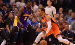 雷霆vs湖人 2016年10月31日NBA常规赛 全场录像回放
