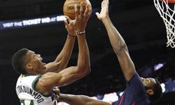 活塞vs雄鹿 2016年10月31日NBA常规赛 全场录像回放