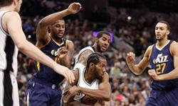 爵士vs马刺 2016年11月2日NBA常规赛 全场录像回放