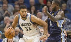 灰熊vs森林狼 2016年11月02日NBA常规赛 全场录像回放