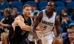 森林狼vs快船 2016年11月13日NBA常规赛 全场录像回放