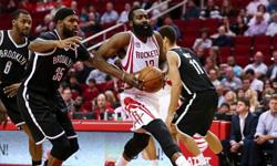 篮网vs火箭 2016年12月13日NBA常规赛 全场录像回放