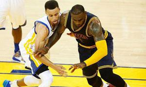勇士VS骑士 2016年NBA总决赛 第一场录像回放